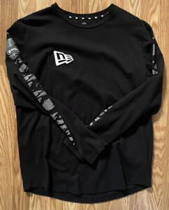 2020 NFL Combine Authentic New Era Long Sleeve Shirt Size Large Black