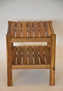 Beistelltisch-Hocker-Tisch-Coachtisch-Outdoor-Camping-Grilltisch-40x40x45-cm