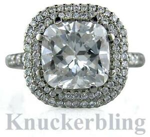 6-01ct-Diamond-Platinum-Engagement-Ring-Certificated-G-VS2-VG-Cushion-Cut