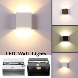 Sd Down Applique Détails Dimmable Imperméable Led Up Lampe Wall 6w Sur Intérieur Extérieure O8w0knP