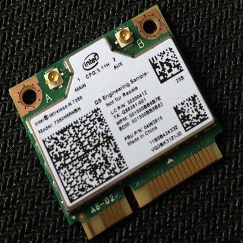 For IBM Lenovo Thinkpad Wireless N Card Fru 04W3815 Intel 7260HMW-BN 20200412