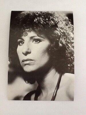Vintage Barbara Streisand Press & Publicity Movie/Film Postcards/Publicity