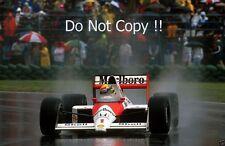 Ayrton Senna McLaren MP4/5 Canadian Grand Prix 1989 Photograph 2