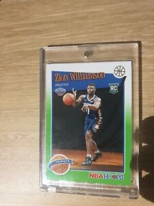 ZION-WILLIAMSON-2019-20-NBA-Hoops-TRIBUTE-Neon-Green-RC-Rookie-card-296