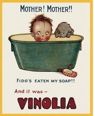 Pears/' Soap Bathroom Showeroom Vintage Advitising Medium Metal Tin Sign Picture