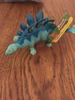 Dinosaur Train - Morris Stegosaurus - Hard Rubber Single Dinosaur Figure