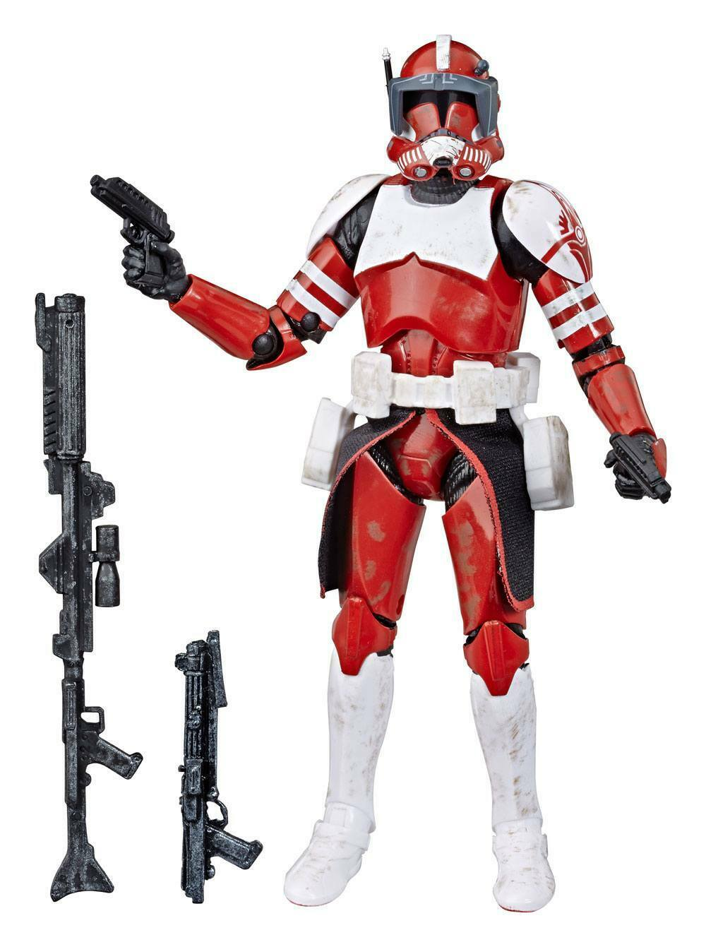 Figurine StarWars : Action Figure Star Wars Black Series : Clone Commander Fox Exclu - Hasbro (Neuf)