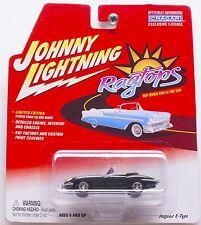 Johnny Lightning Jaguar E-Type GREEN Limited Edition New on card! BIN! 1:64 Cars