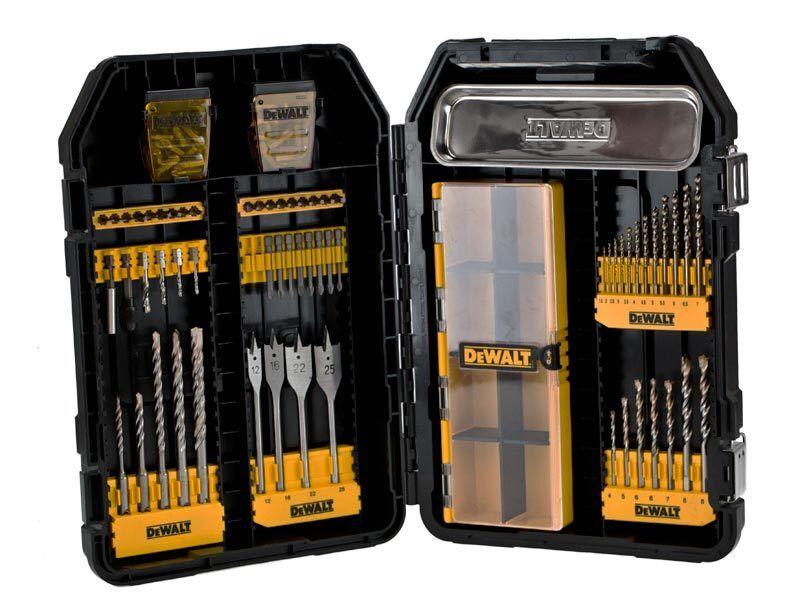DeWalt DT9292-QZ 100 Piece MAC Drilling and Screwdriving Bit Set
