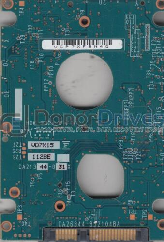 MHY2040BH CP170890-01 Fujitsu SATA 2.5 PCB CA26344-B32104BA