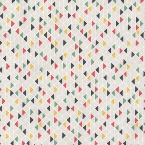 Cherokee village-Adobe triangles-Beige Multi-Tissu de Coton Enfants biberon
