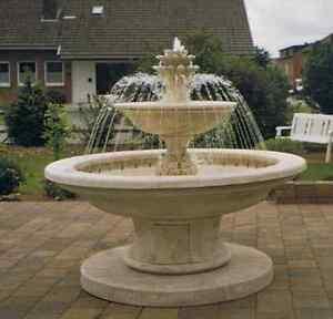 Das Bild Wird Geladen Dekoration Brunnen Springbrunnen Garten  Etagenbrunnen Wandbrunnen
