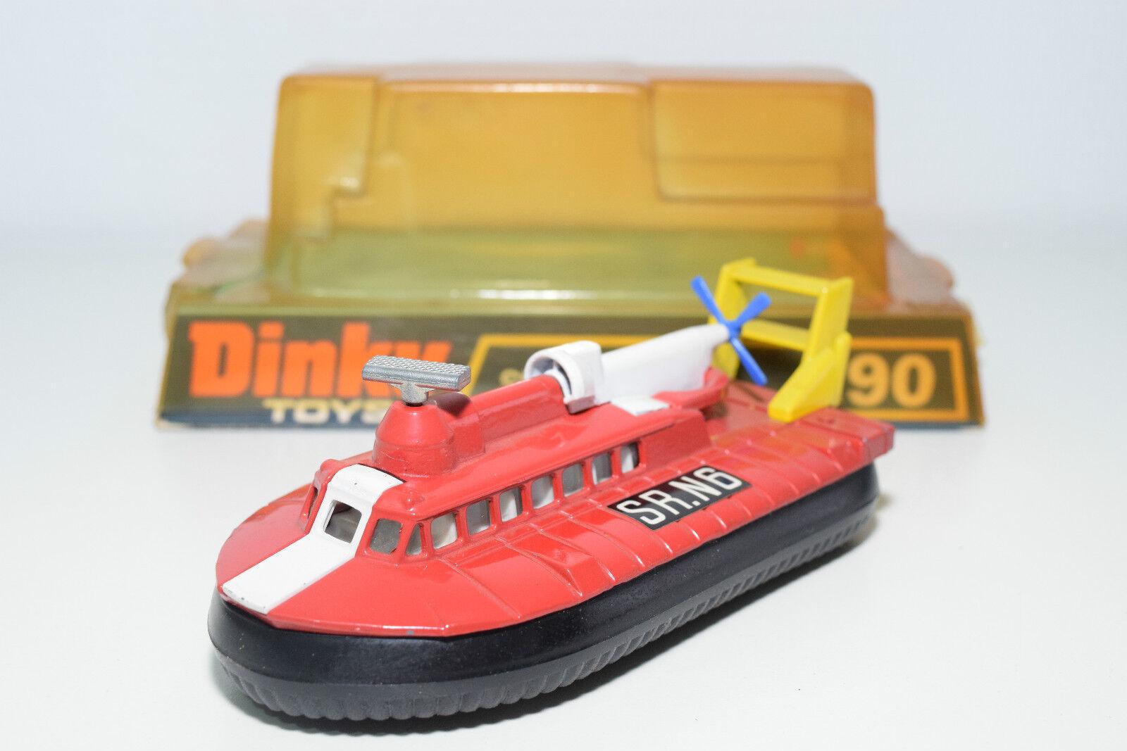 DINKY TOYS 290 SRN6 SRN 6 HOVERCRAFT rojo rojo rojo NEAR MINT BOXED 052cd7