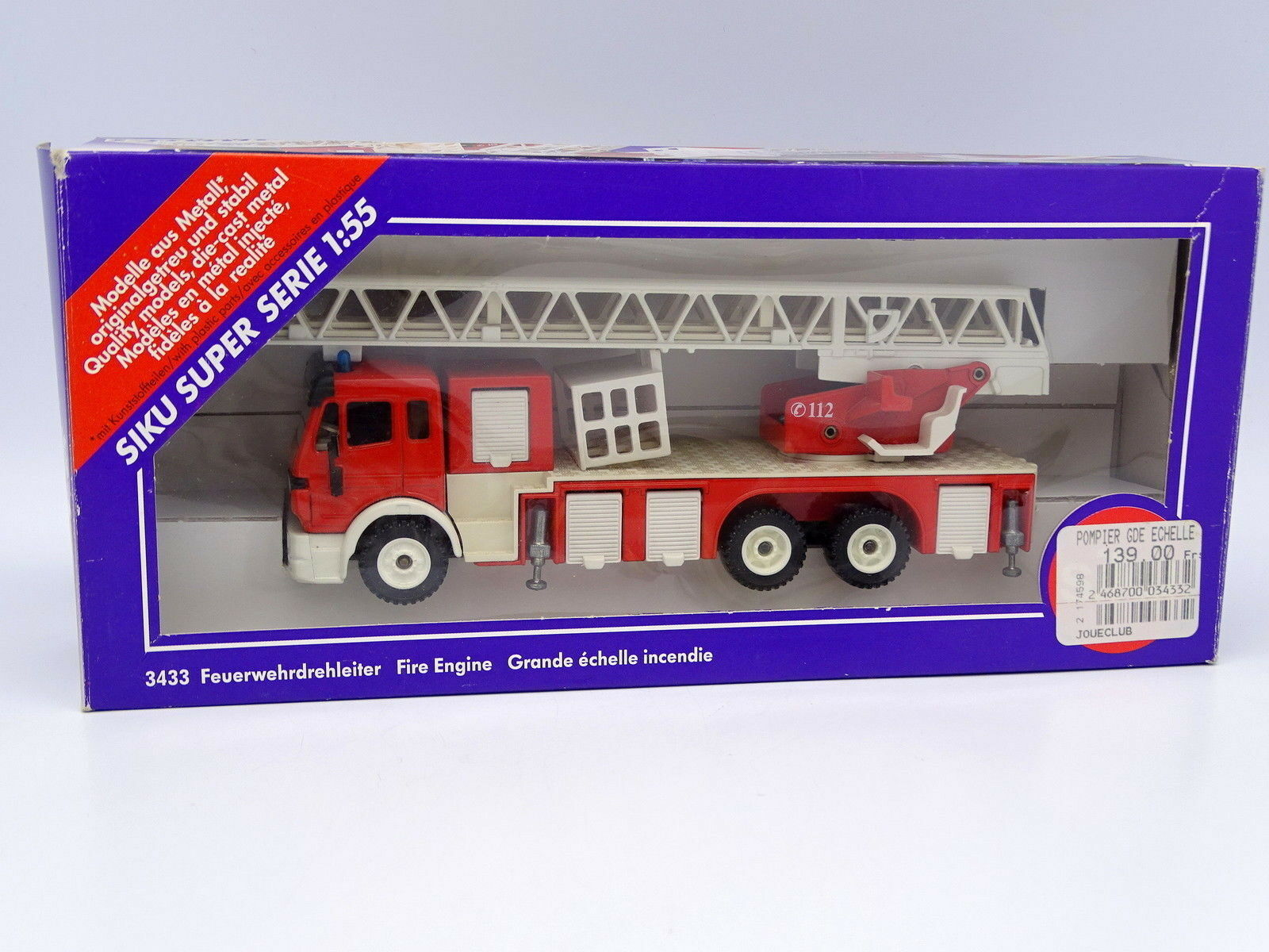Siku 1 55 - Mercedes Large Scale Firefighters