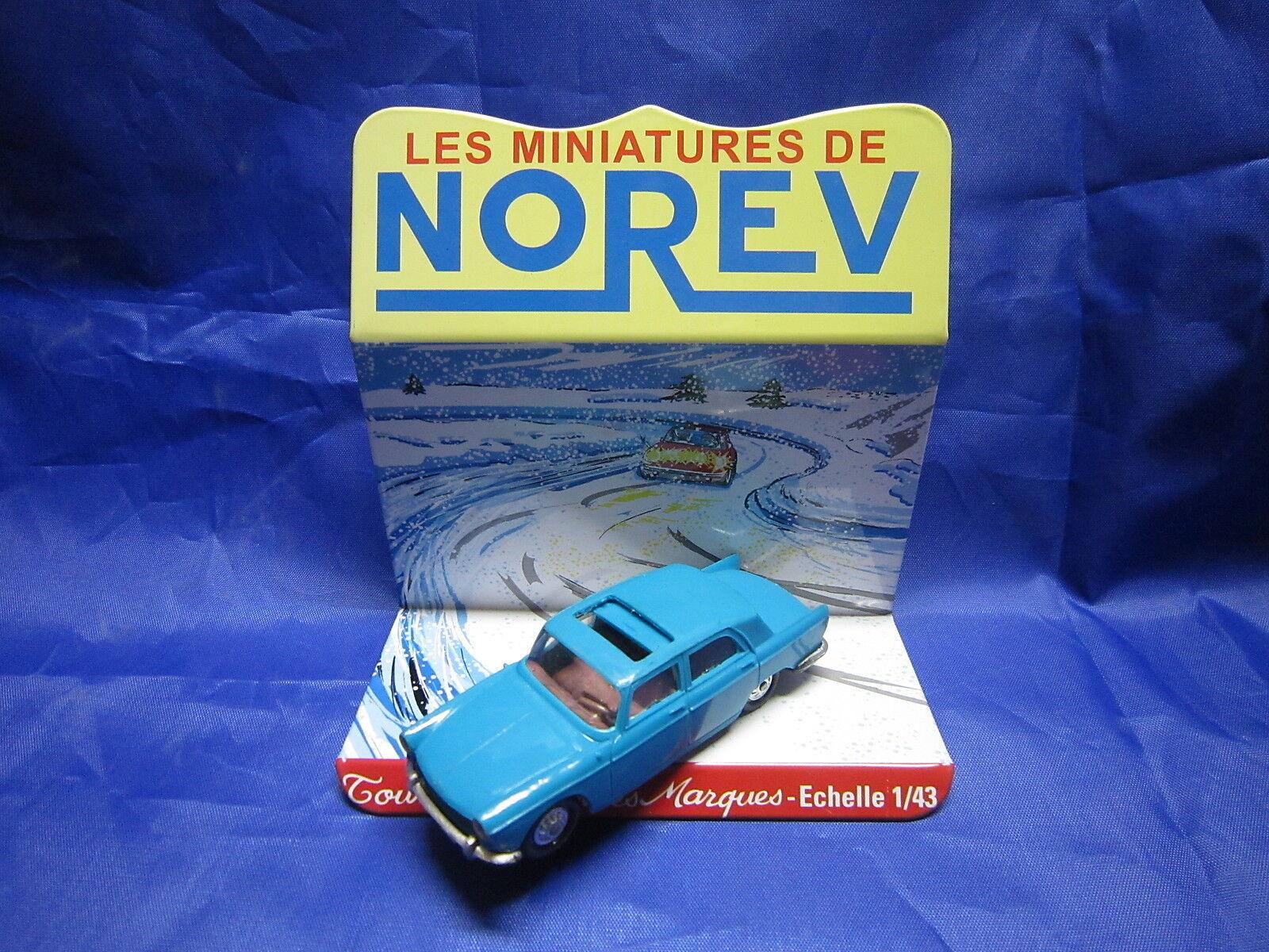 Dv6229 norev peugeot 404 berline plastiksprengstoff Blau turquoise 1 ° typ rf 51 1   43 der