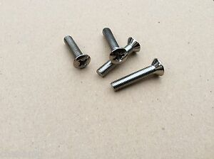 Mg-gear-stick-chrome-surround-fixing-screws-Mgb-Mgb-gt-1972-onwards-bd5-f1