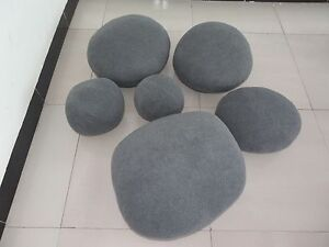Image Is Loading NEW HUGE LARGE BIG GRAY LIVING STONES ROCK