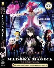 DVD Anime Puella Magi MADOKA MAGICA The MOVIE Trilogy End Ship FREE Eng Sub