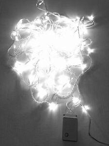 Details About Led Christmas Lights Cool White Exterior 100ft Roll 300 Leds 110v Outdoor String