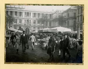 France-Nice-Marche-au-Cours-Saleya-Vintage-silver-print-Tirage-argentique