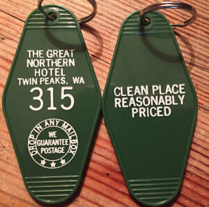 Twin-Peaks-039-The-Great-Northern-Hotel-039-Keyring-UK-Seller-Free-1st-Class-Postage