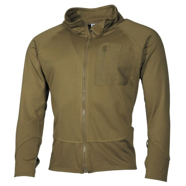Coyote Tan US Military Tactical Softshell Light Combat Jacket Fast Drying Base