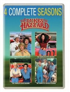 The-Dukes-of-Hazzard-The-Complete-Seasons-4-5-6-7-20-Disc-DVD-NEW