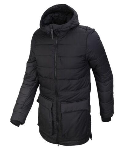 Adidas Hommes Climaheat icezeit Rembourré à Capuche Veste D'Hiver Noir Manteau Parka BS0998