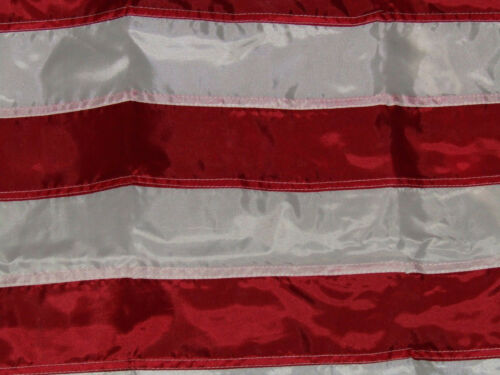 3X5 Embroidered US USA American 220-D Flag 3/'x5/' Indoor Pole Sleeve Gold FRINGE