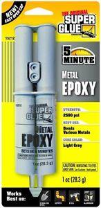 Supa Glue Super Glue 15212 Quick Setting Metal Epoxy (1 oz / 28.3 g)