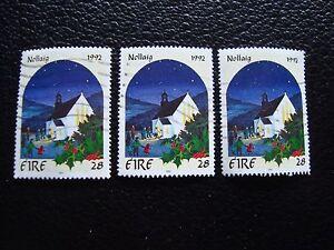 irlanda-sello-yvert-y-tellier-n-817-x3-matasellados-A32-stamp-Irlanda-T