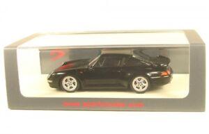 Porsche 993 Turbo (noir) 1996
