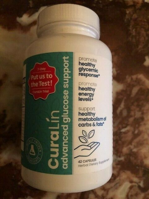 CuraLin 42 Tabs by CuraLife  EXP 12/2022