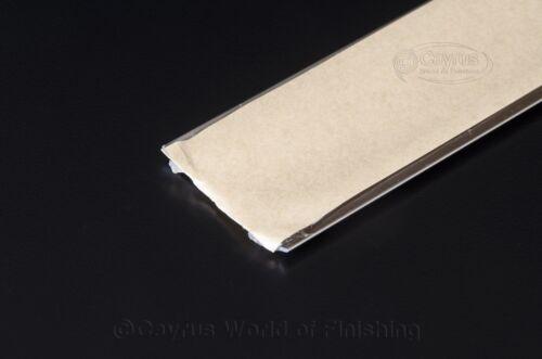 2.7m FLAT SELF ADHESIVE ALUMINIUM DOOR FLOOR EDGING BAR-TRIM-THRESHOLD-35mm