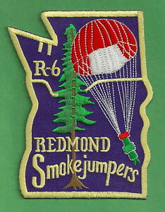 Details about U S  FOREST SERVICE REGION 6 REDMOND SMOKE JUMPERS FIRE PATCH