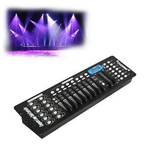 Neuf-Controleur-DMX-512-Controle-Sans-fil-192-Canaux-Equipment-LED-projecteur-DE