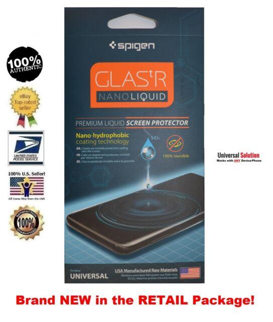 huge selection of 4083f b7b33 Spigen 000GL21813 Glas.tr Nano Liquid Screen Protector