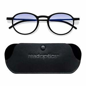 Blue Light Blocking Stylish Round Reading Glasses Computer Gaming UV Filter