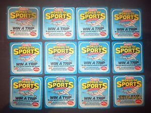 12-NOBBYS-POTATO-CHIPS-NUTS-COMPETITION-advertising-COASTERS-collectable