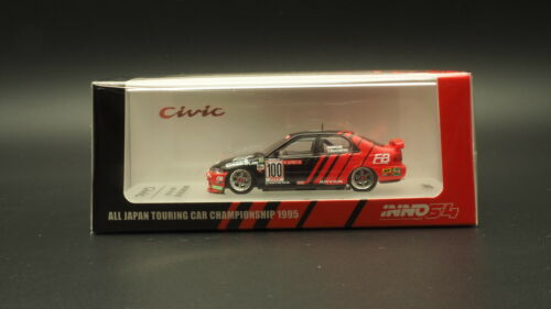 Inno64 Model 1//64 Honda Civic FERIO #100 JTCC 1995