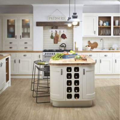 B/&Q IT Kitchens 500mm DOOR PACK G Sandford Ivory Style Slab