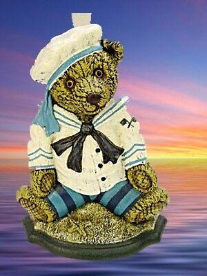 29 Cm. Türstopper Teddy Baer Metall Für Haus Hof+tor Sailor Bear Doorstop H Nostalgie- & Neuware Außen- & Türdekoration
