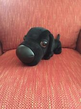 THE DOG Artlist Collection Black Labrador Retriever Lab Plush Red Collar