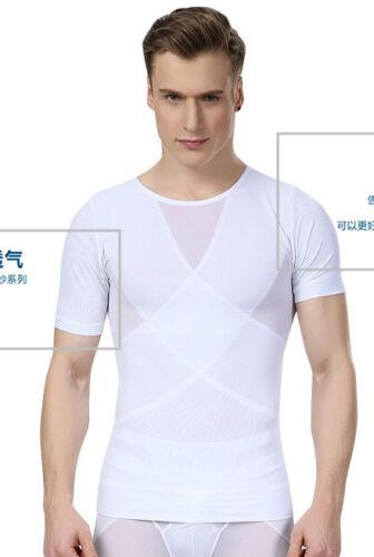 Best Shapewear for Men to Hide Man Boobs Gynecomastia T Shirt Male Corset Vest