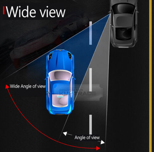 Side Mirror Blind Spot Wide Curved Glass Pair for HYUNDAI 13-2016 Genesis Coupe