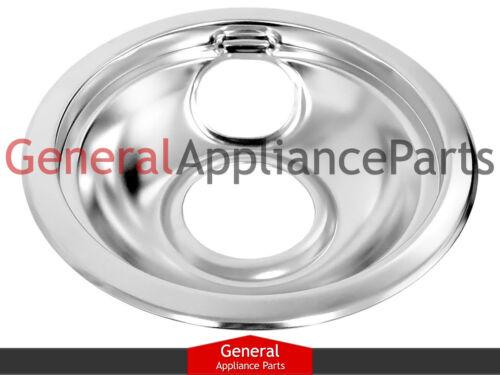 "Stove Range Cooktop 6/"" Burner Chrome Drip Pan Bowl DBPA001"