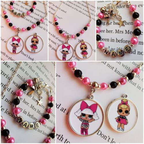 LOL suprise  Diva Gift set Personalised Jewellery for Children!