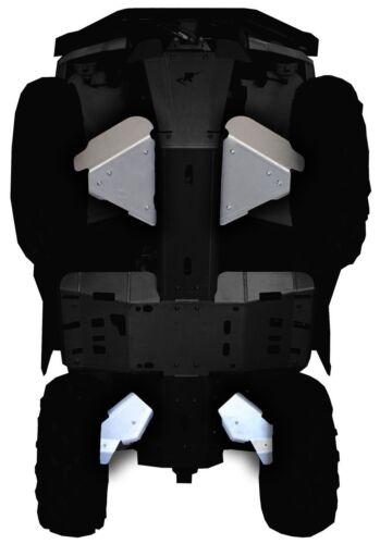 Ricochet Off-Road 4 PC A-Arm  /& CV BootGuards 2015-18 Can-Am Outlander L /& L Max