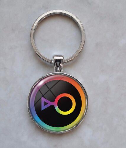 Choose a Gender LGBT Lesbian Gay Bisexual Trans Nonbinary  Keychain