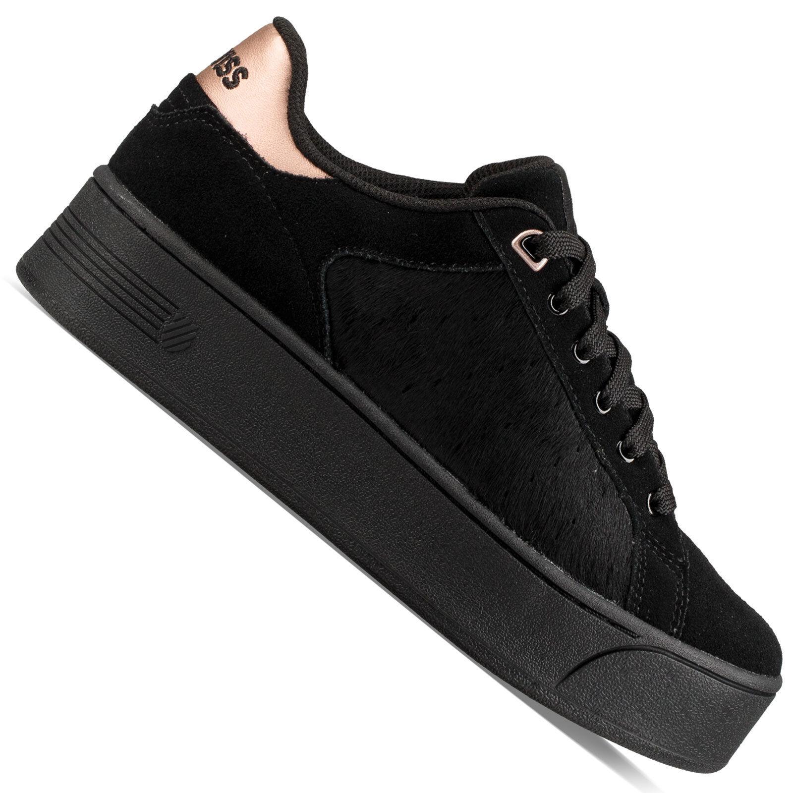 K-Swiss Dalia SDE Metallic Plateau Damen-Sneaker Schuhe Metallic SDE Turnschuhe Plateausohle 5bd070